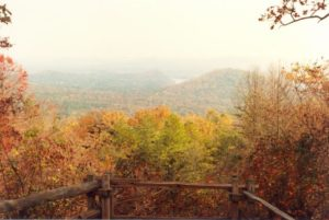 Fall, from atop Morrow Mountain (photo courtesy N.C. State Parks)