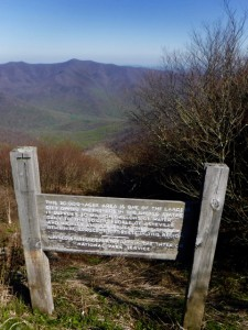 The Asheville Watershed and Swannanoa Valley below