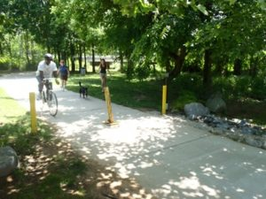 Charlotte's McAlpine Creek Greenway