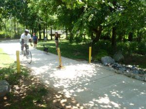 Charlotte's McAlpine Creek Greenway