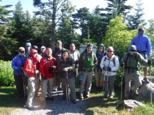 Mount Mitchell — in late June