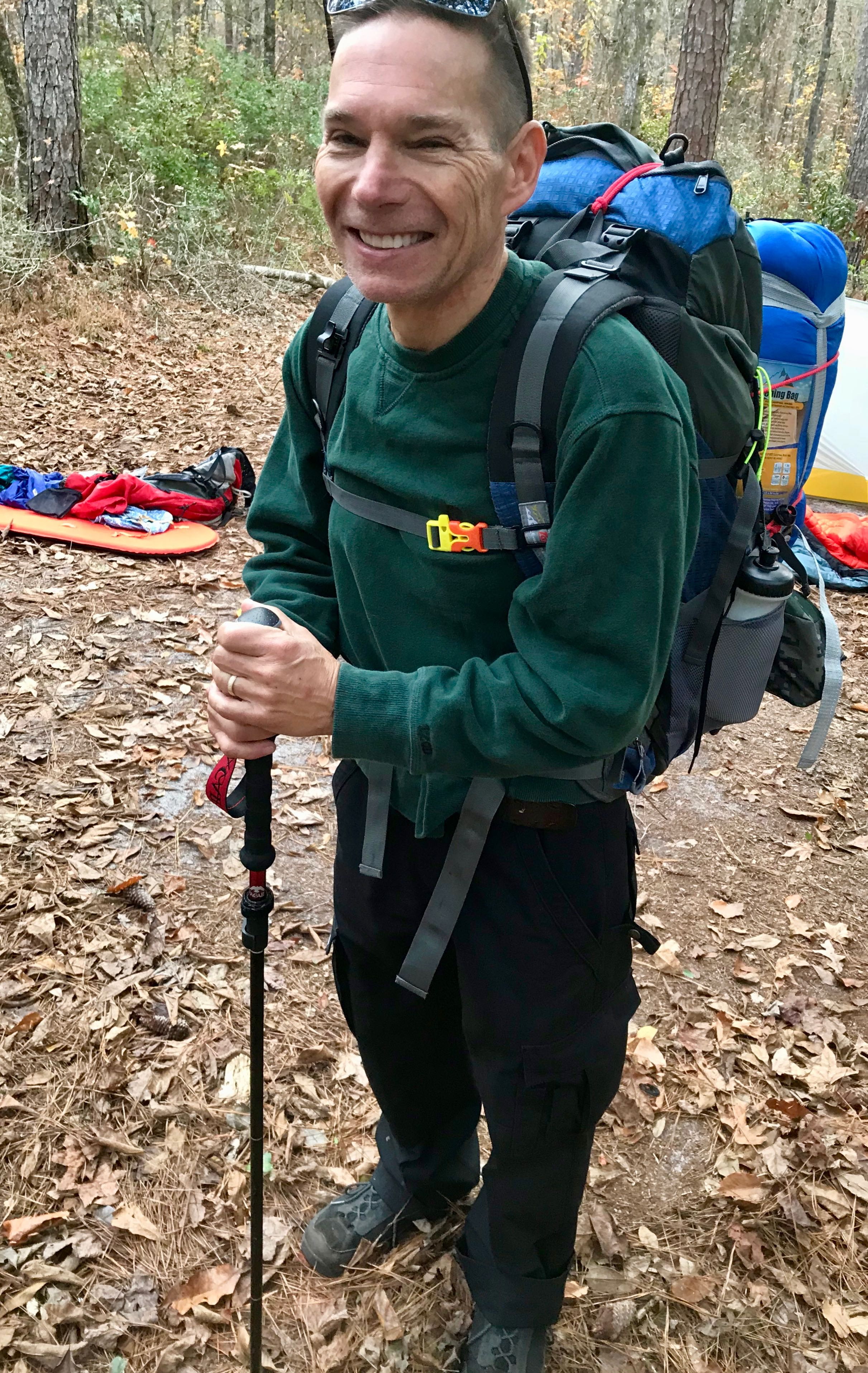 Backpacking requires focus and attention to detail.