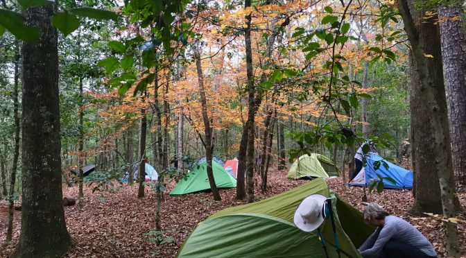 Fall 2018: Hike, Camp, Backpack with us