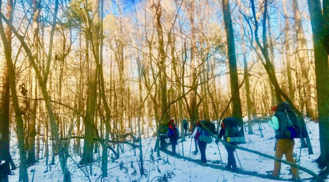 Warm up to winter hiking with a few simple tips