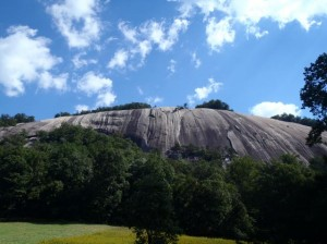 Stone Mountain (photo courtesy N.C. State Parks)