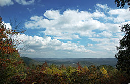 The view from atop Morrow Mountain
