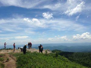 Hike a wilderness in North Carolina