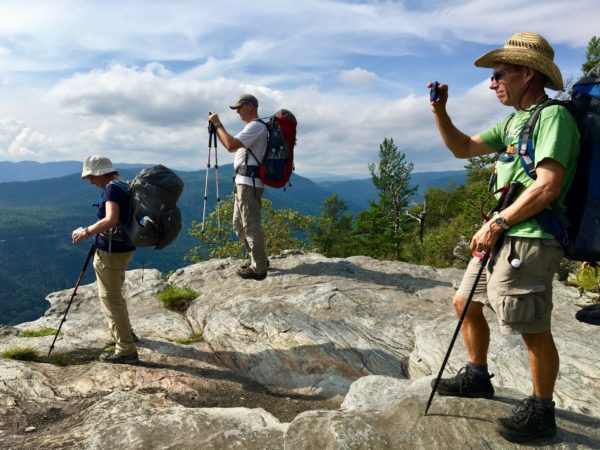 Outdoor escapes in 2017 — Linville Gorge
