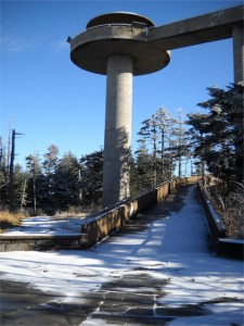 Clingman's Dome: send a message, pay a visit
