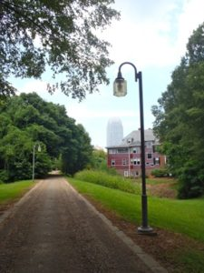 Winston-Salem's Strollway goes into the heart of downtown.