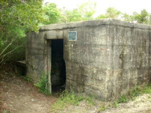 The Hermit's Bunker (photo courtesy N.C. State Parks)