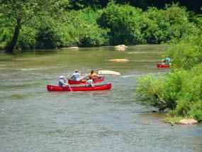 Canoeing the New. Photo: canoethenew.com