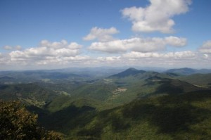 View from Elk Knob (photo courtesy North Carolina State Parks)