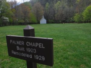Palmer Church in Cataloochee