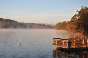 Paddy Creek area of Lake James (photo courtesy NC State Parks)