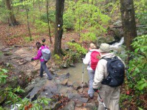Hiking along the Eno