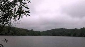 Price Lake on a moody day
