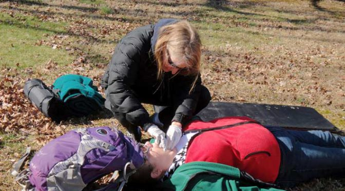 Come to the rescue with Wilderness First Aid