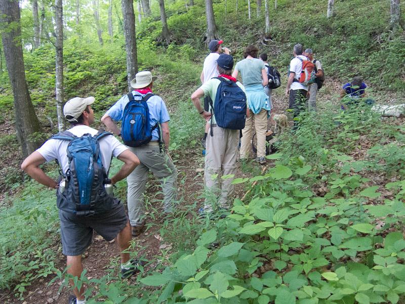 Remember your trail etiquette