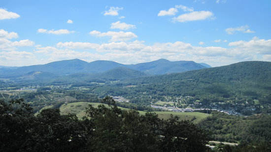 View from Mount Jefferson